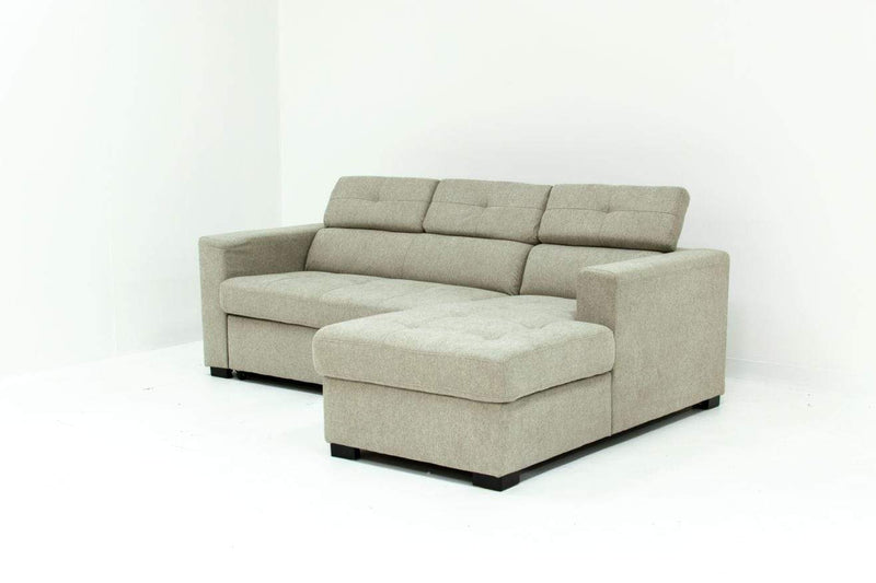 GIGI SLEEPER SECTIONAL-FABRIC-MARBLE GARETT