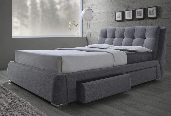 CENBROOK UPHOLSTERED STORAGE BED- KING
