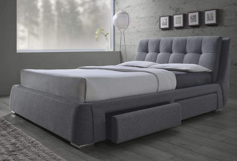 CENBROOK UPHOLSTERED STORAGE BED- QUEEN