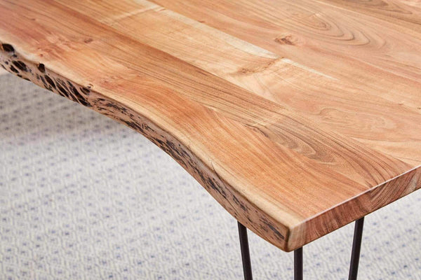 NDUSTRIAL NATURAL ACACIA DINING TABLE