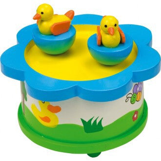 Duck music box