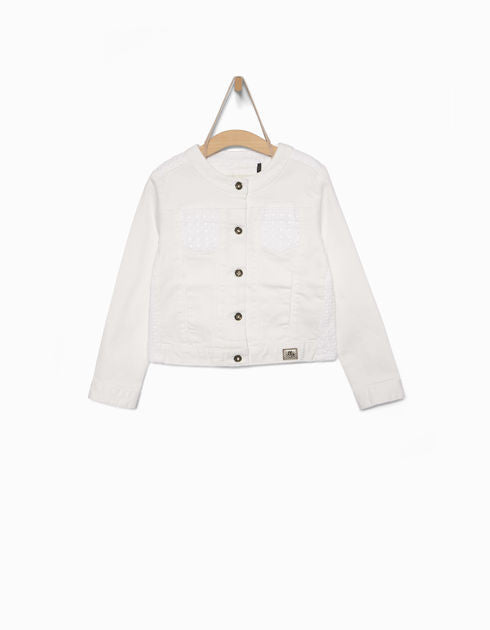 IKKS White Denim Jacket