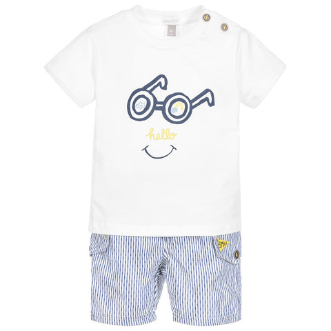 Absorba Baby Boy T-Shirt and Shorts Set