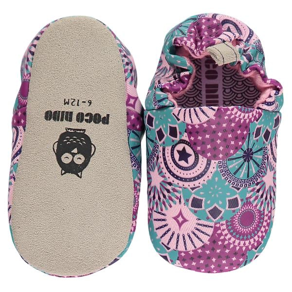 Poco Nido Patterned Baby Shoes