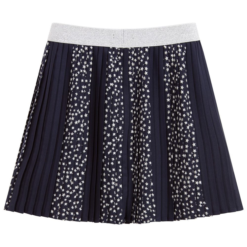 IKKS patterned skirt