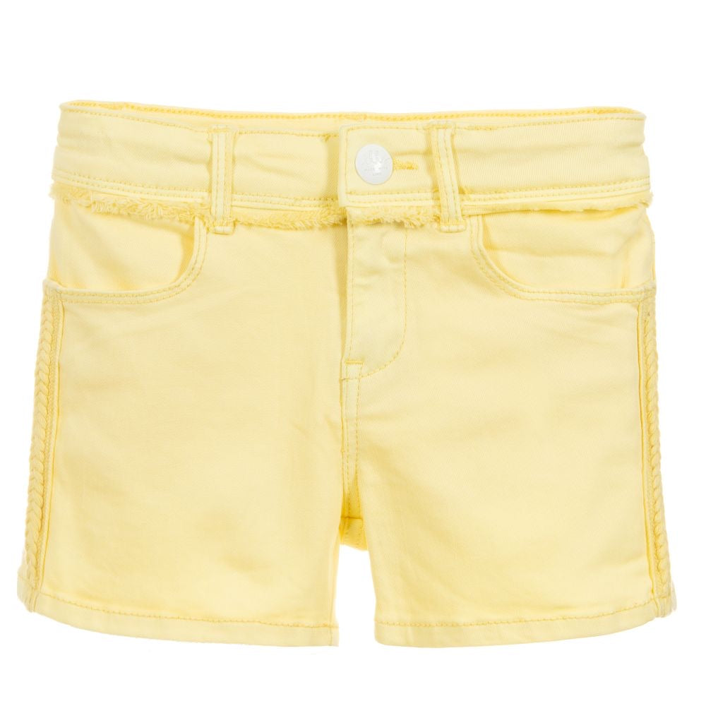 IKKS Yellow Shorts