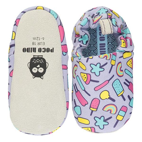 Poco Nido Purple Ice lollies Baby Shoes