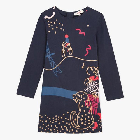 Catimini Navy Dress