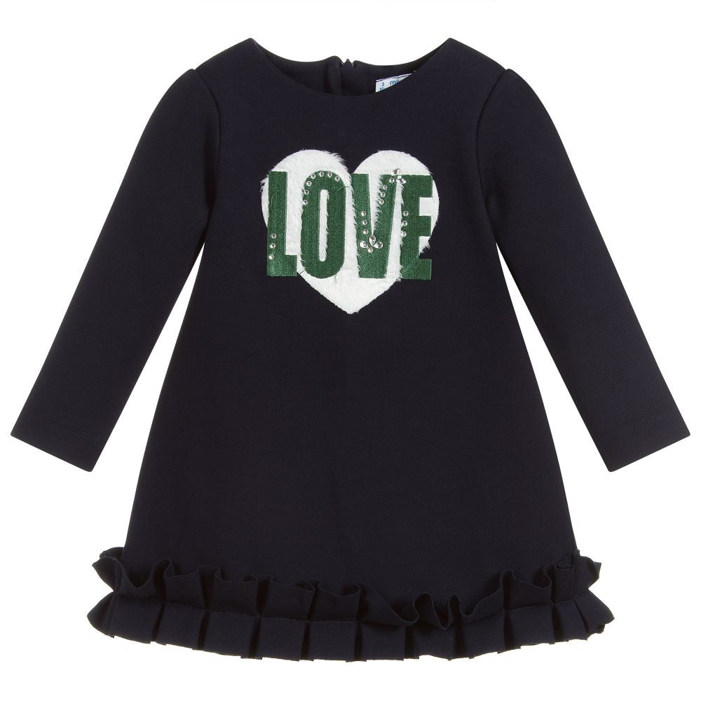 Mayoral Navy Love Dress