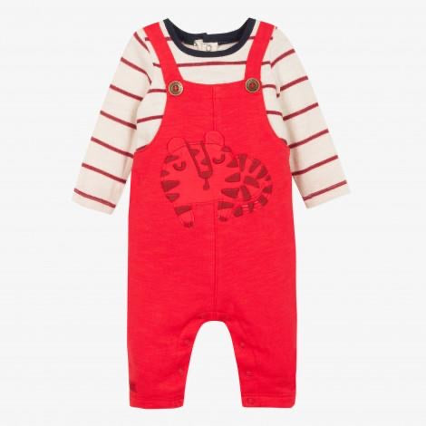 Catimini Baby Boy Faux Dungarees