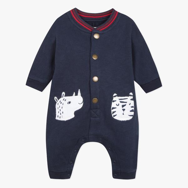 Catimini Baby Boy Navy All in One