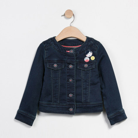 Catimini Navy Denim Jacket.