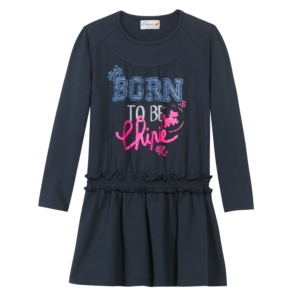 Chipie Navy Jersey Dress