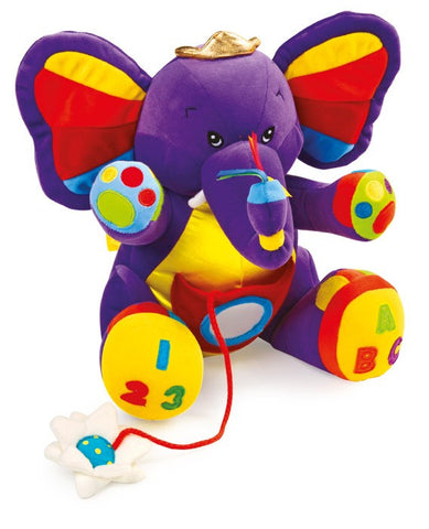 Lili the Purple Elephant