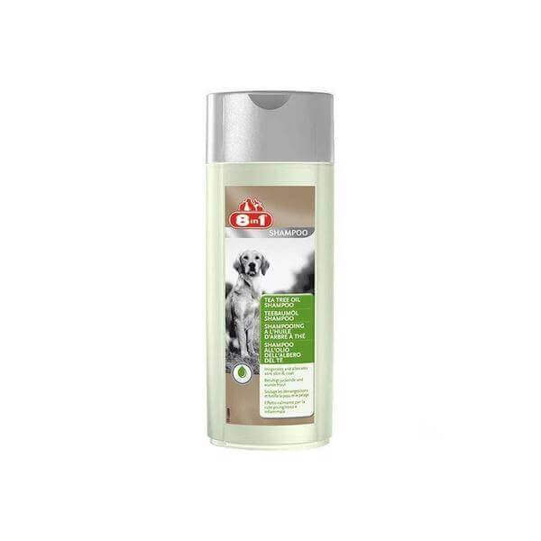 8in1 Tea Tree Oil Shampoo-Groom-Whiskers Nation