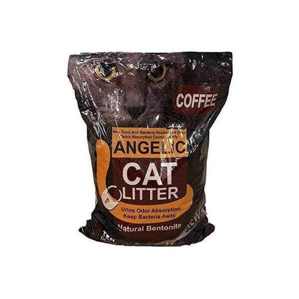 ANGELIC coffee scented Cat litter Lemon- 5 Liters-Cats litter-Whiskers Nation
