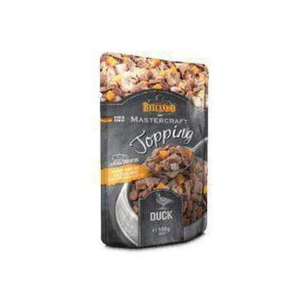 Belcando-MASTERCRAFT-Topping-Duck-100g-Dogs food-Whiskers Nation