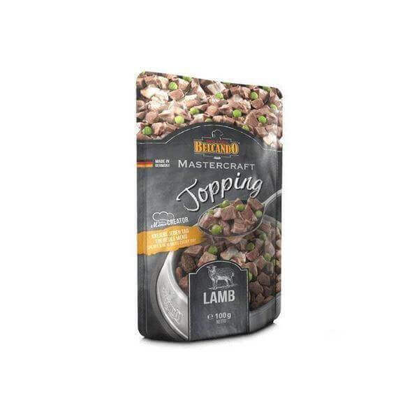 Belcando-MASTERCRAFT-Topping-Lamb-100g-Dogs food-Whiskers Nation