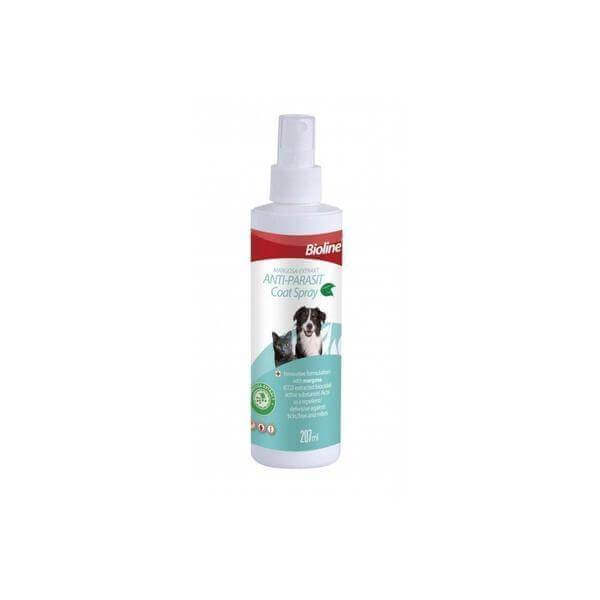 Bioline Anti Parasit Coat Sprey (Dogs & cats) 207 ml-Shampoo-Whiskers Nation