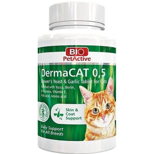 DermaCAT 0,5 | Brewer's Yeast Tablet for Cats-Whiskers Nation