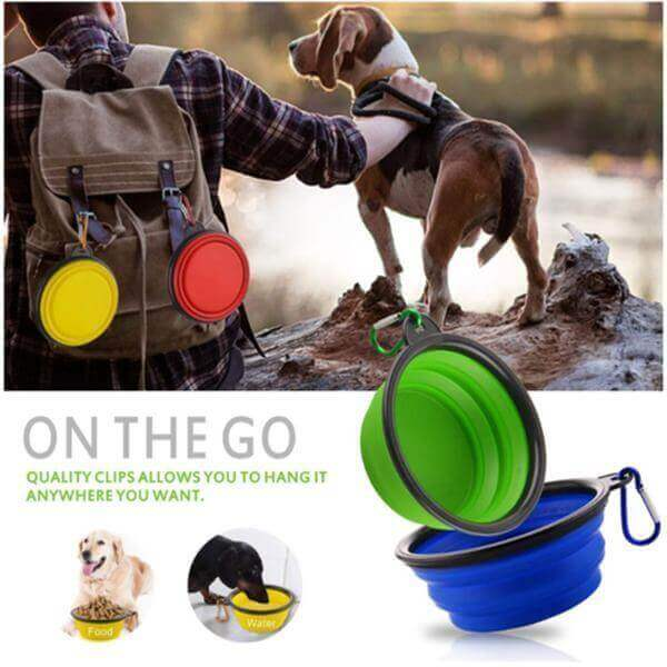 Dog travel bowl-Bowl-Whiskers Nation