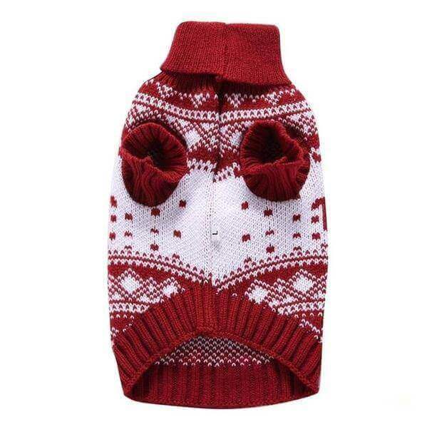 Doggy fashion winter dog sweater for puppies and small breed dogs-Groom-Whiskers Nation