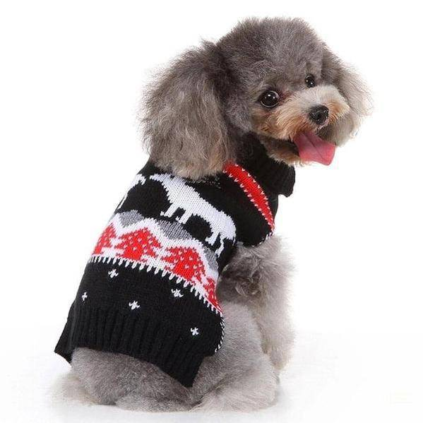 Doggy fashion winter dog sweater for puppies and small breed dogs-Whiskers Nation-Whiskers Nation