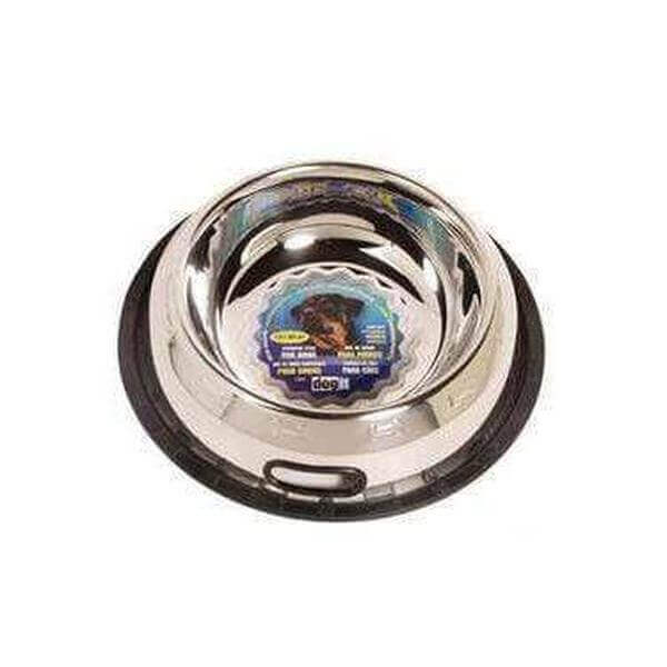 Dogit Stainless Steel Non-Spill Dog Dish, 1.9L-Bowl-Whiskers Nation