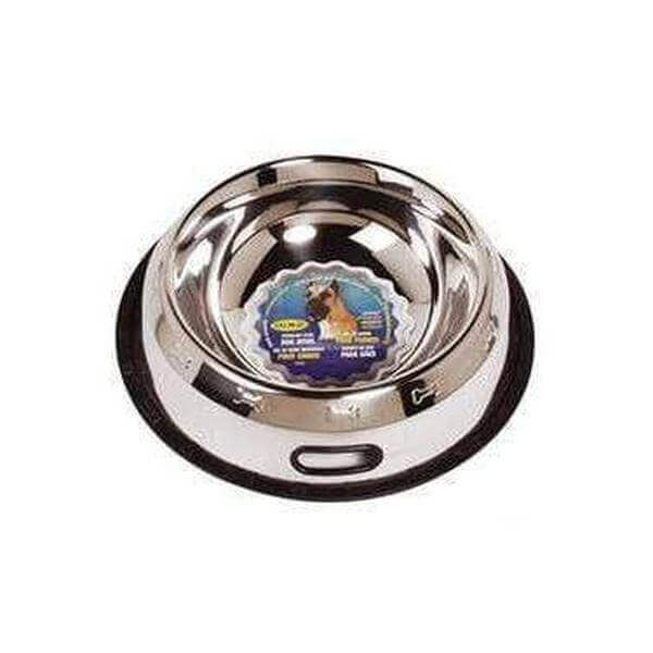 Dogit Stainless Steel Non-Spill Dog Dish, 2.8L-Bowl-Whiskers Nation