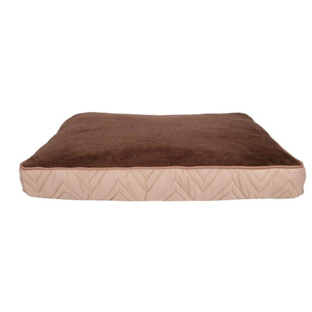 Hagen Dogit Rectangle Mattress Bed Beige and Brown-Whiskers Nation-Whiskers Nation