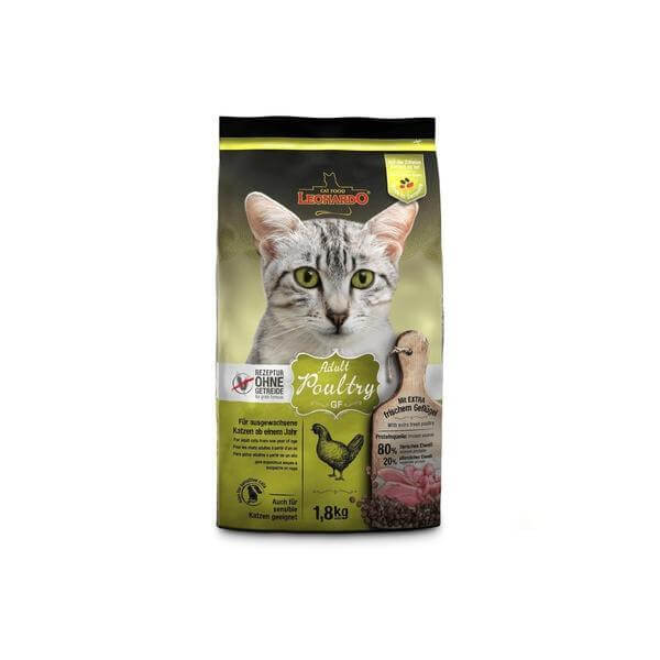 Leonardo Adult GF Poultry 1.8 KG-Leonardo-Whiskers Nation