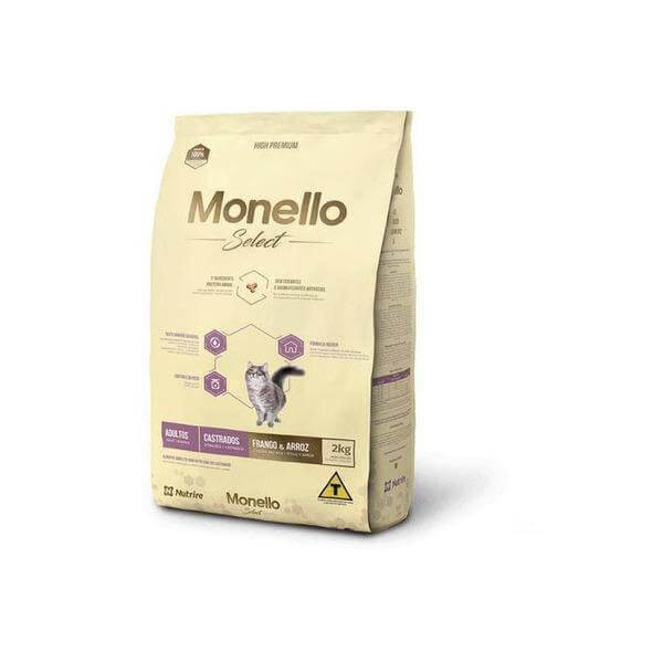 Monello Select Chicken and rice cats dry food 2 KG-Monello-Whiskers Nation