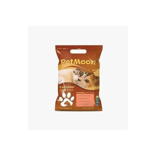 PetMoon Cat litter Coffee 5L-Petmoon-Whiskers Nation