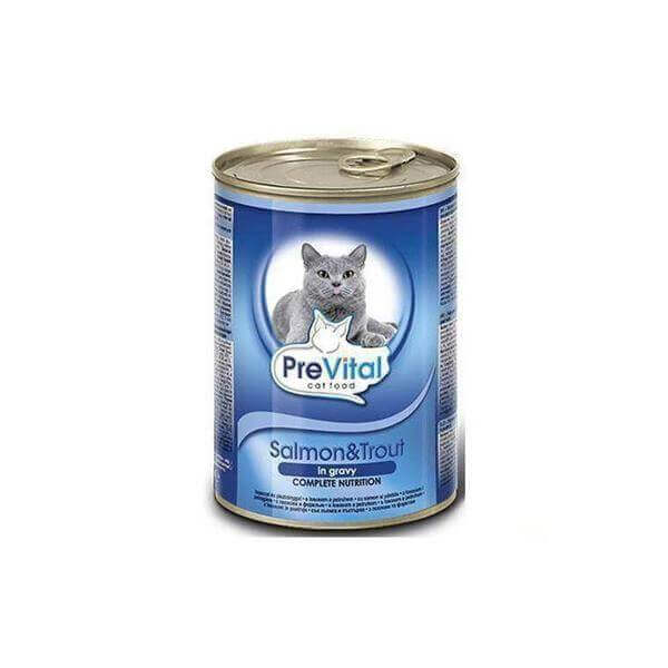 PreVital Salmon, trout & carrot 415 g-Whiskers Nation