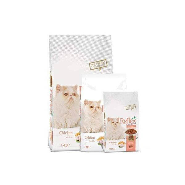 Reflex Kitten Chicken Food 3 KG-Spectrum-Whiskers Nation