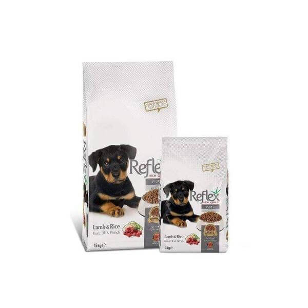 Reflex Puppy Food Lamb Rice- 3KG-Reflex-Whiskers Nation