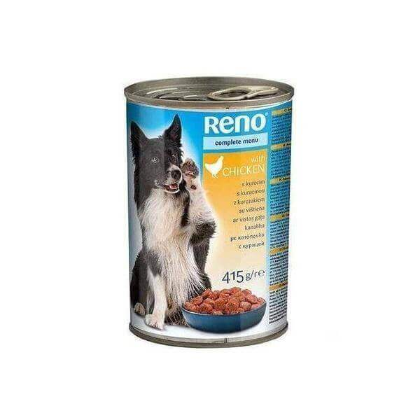Reno small dogs chicken-415 g-Dogs food-Whiskers Nation