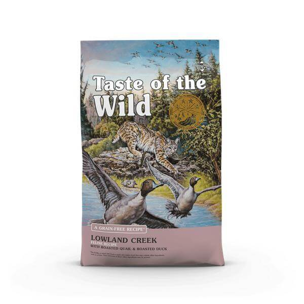 Taste of the wild- Lowland Creek Feline Recipe-Cats food-Whiskers Nation