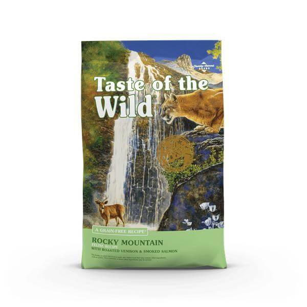 Taste of the wild- Rocky Mountain Feline Recipe with Roasted Venison & Smoked Salmon-6.6 kg-Cat food-Whiskers Nation