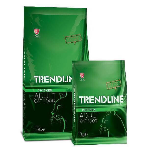 Trendline Adult Cat Food Chicken- 15 kg-Cats food-Whiskers Nation