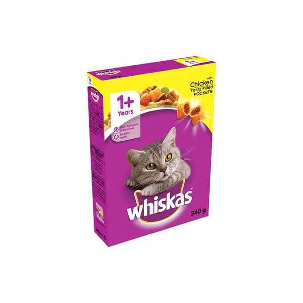 Whiskas Chicken tasty filled pockets 340 g-Whiskas-Whiskers Nation