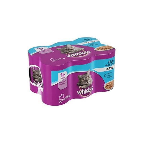 Whiskas Fish Selection In Jelly-Whiskas-Whiskers Nation