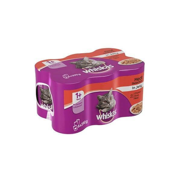 Whiskas Meat Selection In Jelly-Whiskas-Whiskers Nation