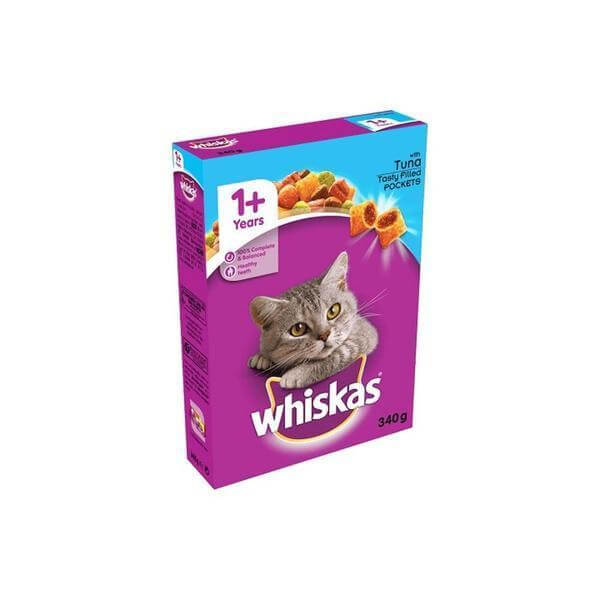 Whiskas Tuna tasty filled pockets 340 g-Whiskas-Whiskers Nation