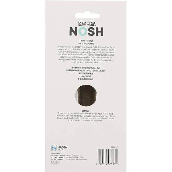 Zeus NOSH Strong Chew Bone - Beef & Cheese Flavor - Large-Taste of the wild-Whiskers Nation