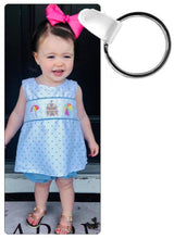 Load image into Gallery viewer, Rectangle Plastic Key Chain