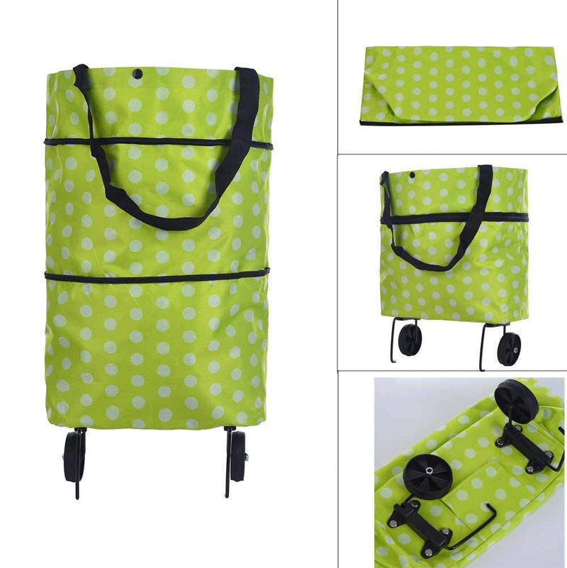 DAY PACK FOLDABLE TROLLEY BAG