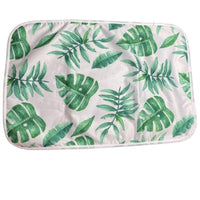 Tropicana Fronds Change Mat Set-groovykidsco.