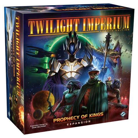 Twilight Imperium (4th Edition): Prophecy of Kings Expansion