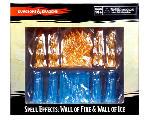 Spell Effects - Wall of Fire & Wall of Ice